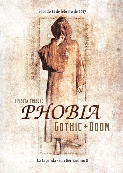 Phobia - Gothic / Doom - II Fiesta Tributo @ La Leyenda | 11.02.2017 | 23:00 – 3:30