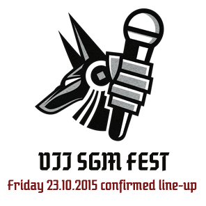 VII SGM FEST - Friday 23.10.2015 - Confirmed line-up